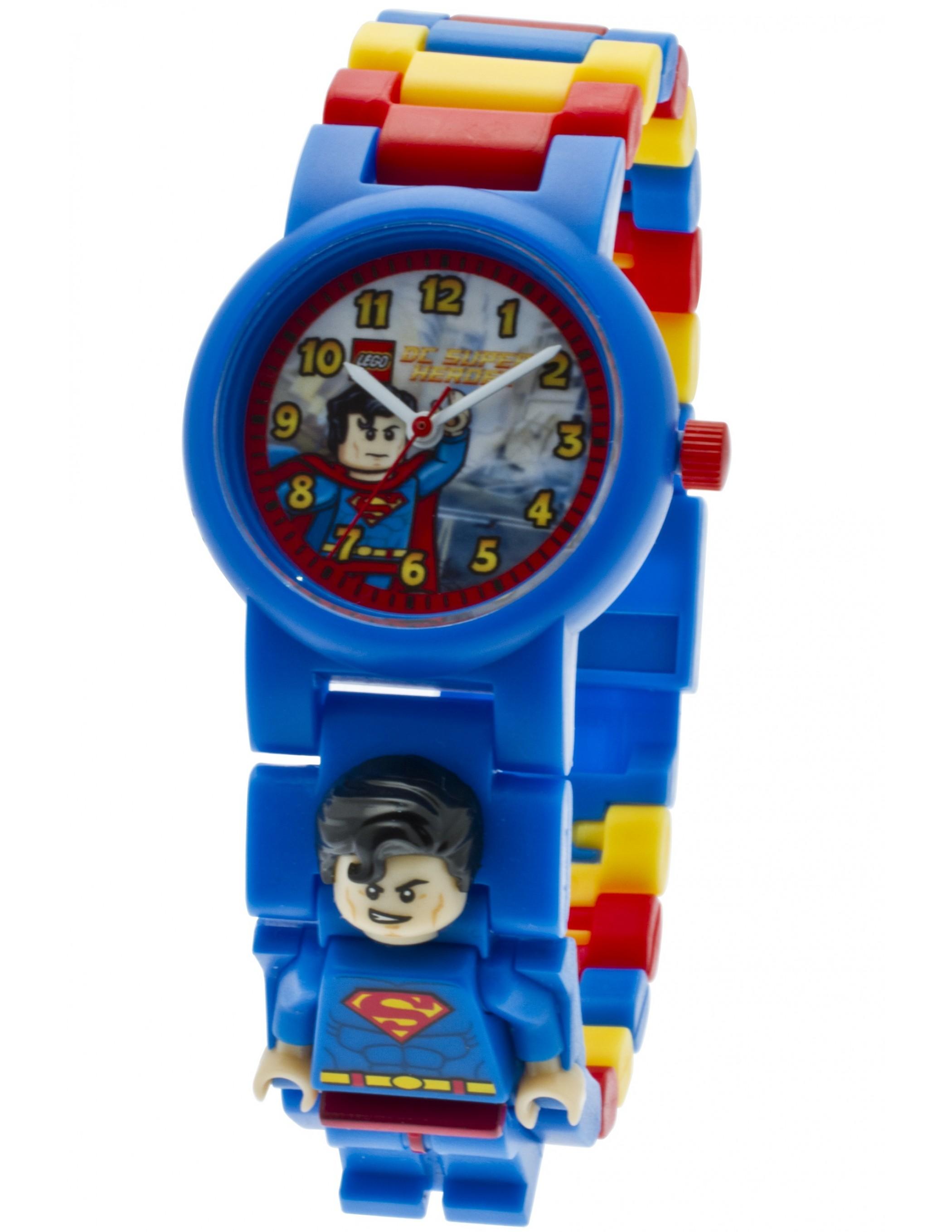 LEGO Super Heroes Superman Minifigure Link Watch - Best ...