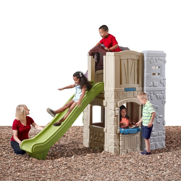 step2 2 story playhouse slide best educational infant