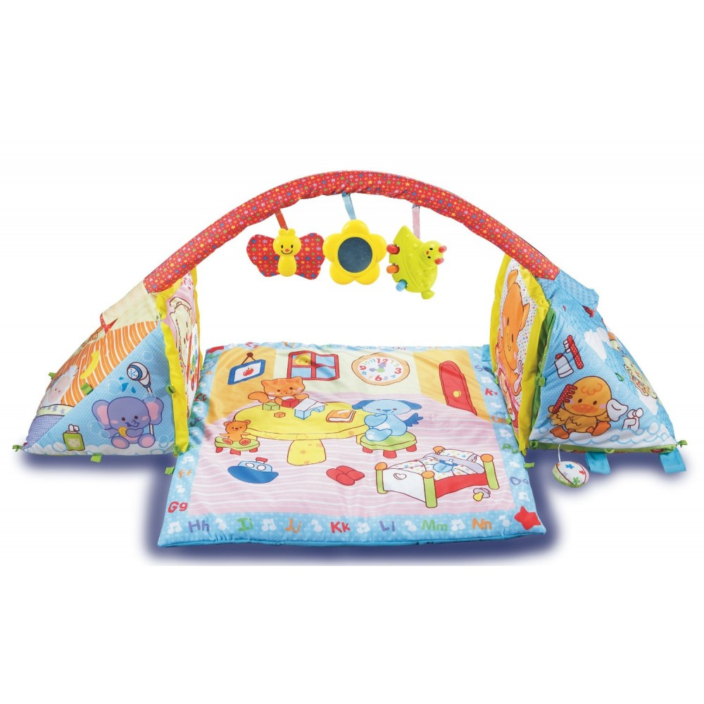 2 In 1 Playmat Cube Best Educational Infant Toys Stores