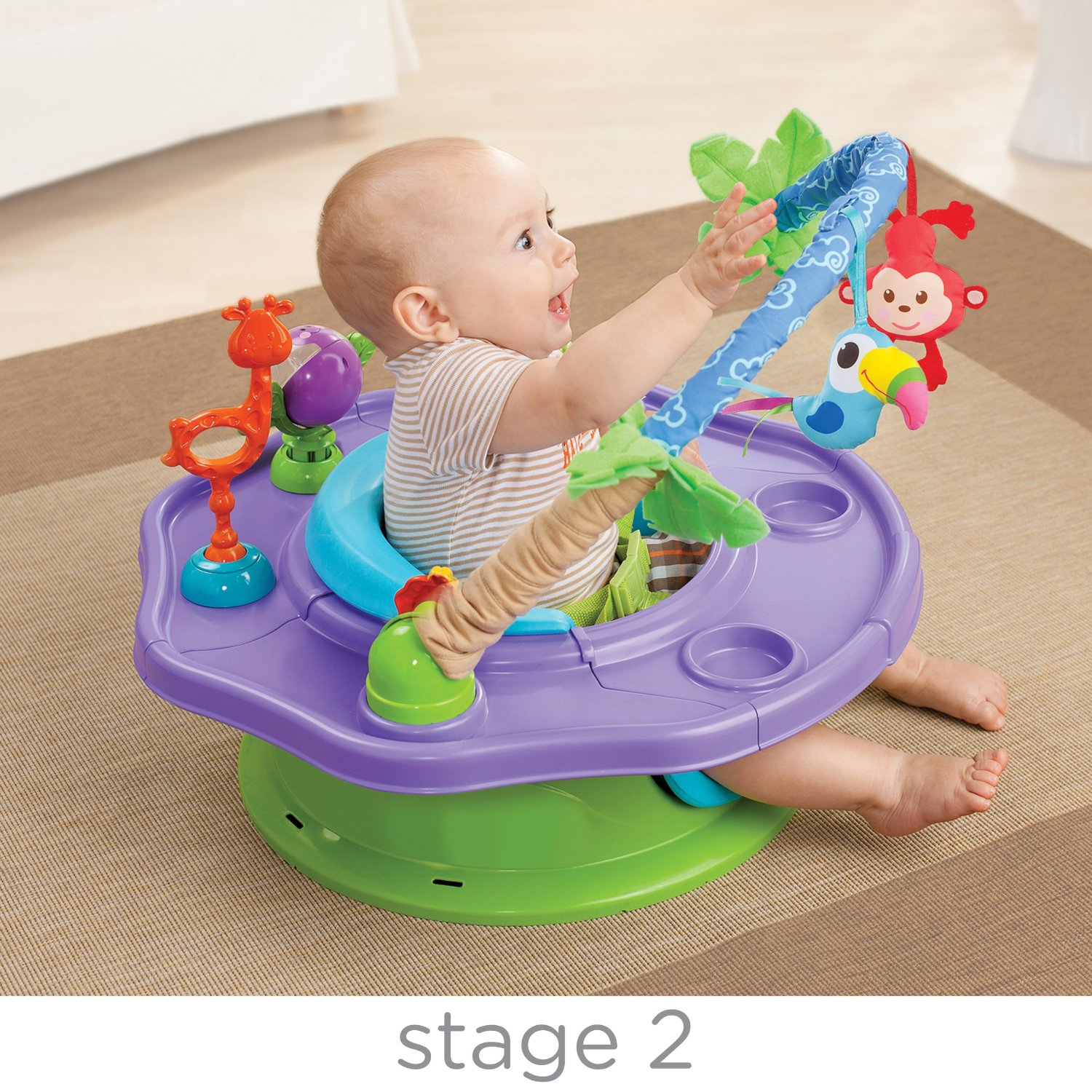 SuperSeat Deluxe Giggles Island Best Educational Infant Toys