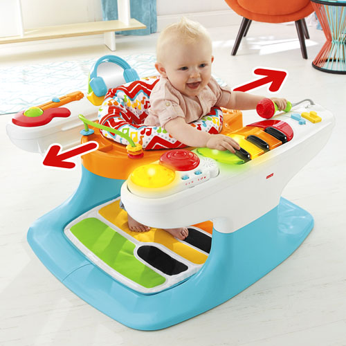 4 In 1 Step N Play Piano Best Educational Infant Toys