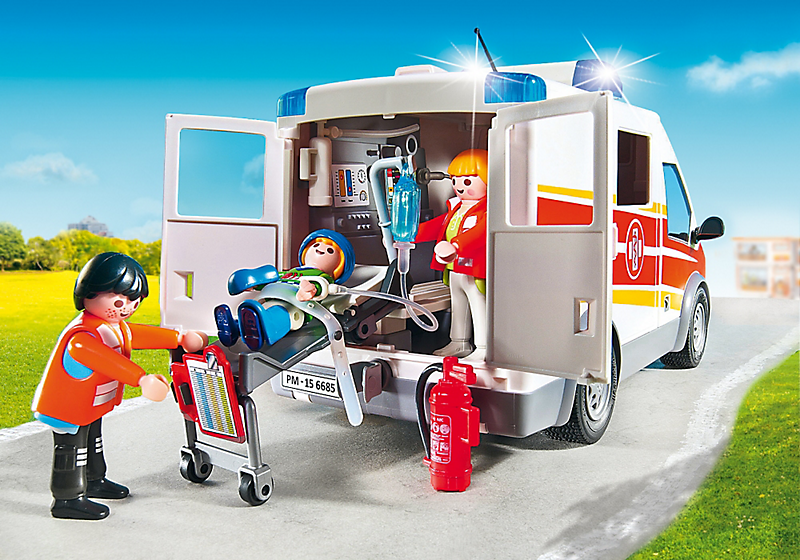 Playmobil Ambulance With Lights And Sound Best