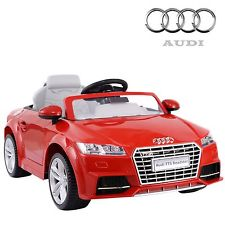 Battery Operated Car Audi TTS Roadster ZP8006 (Red/Yellow ...