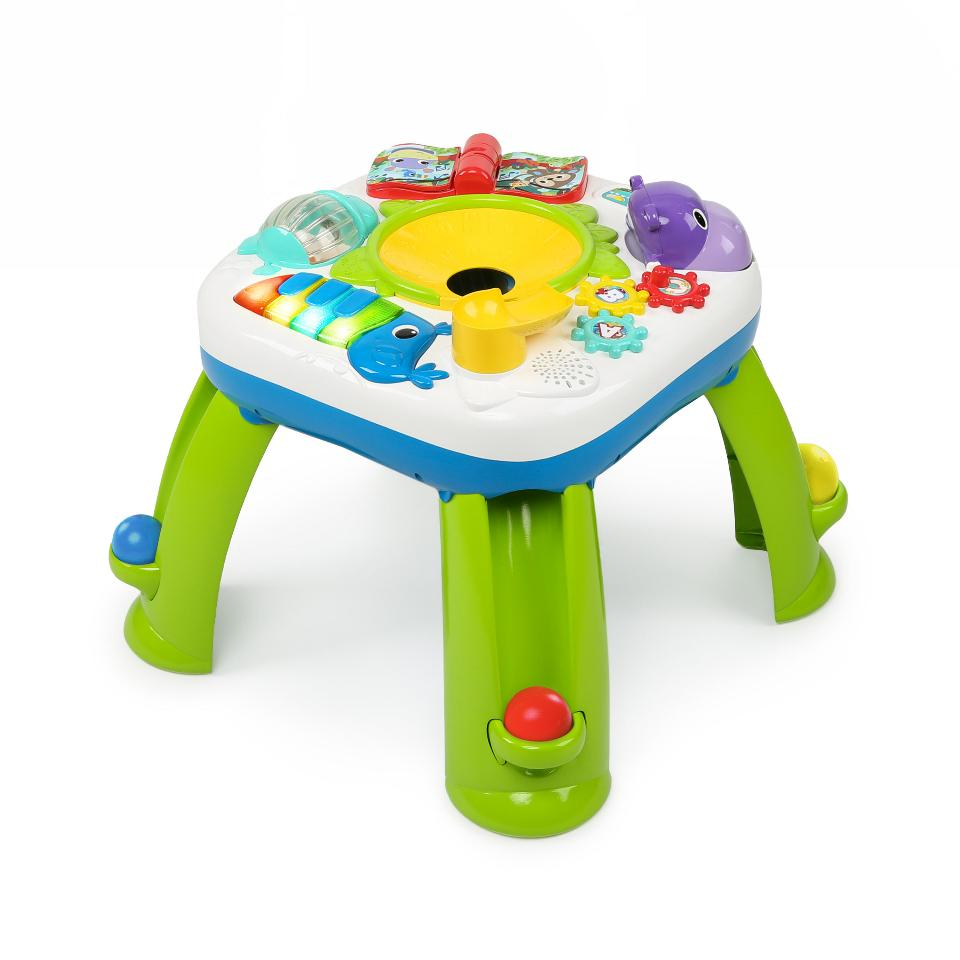 bright starts having a ball get rollin activity table best educational infant toys stores. Black Bedroom Furniture Sets. Home Design Ideas