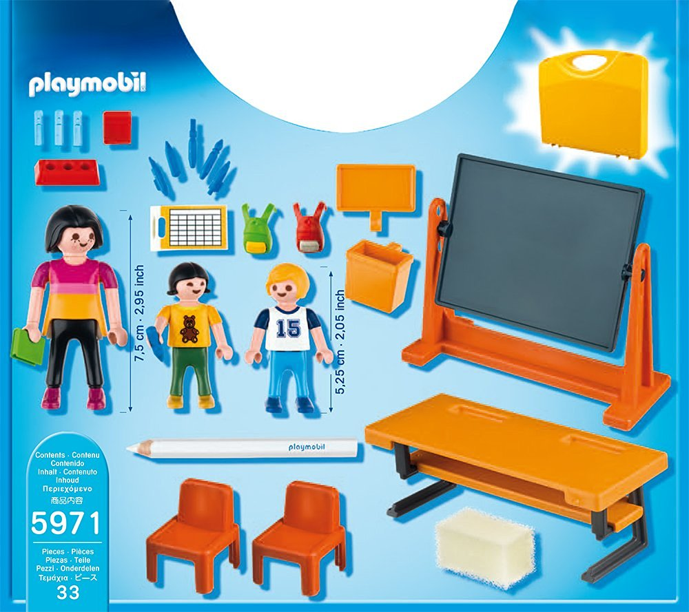 Playmobil Carrying Case School Best Educational Infant