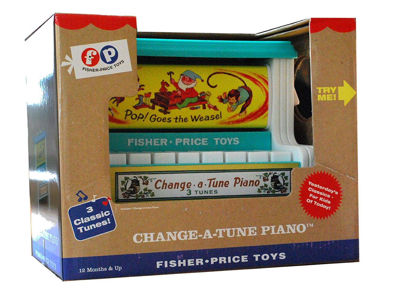 fisher-price classic change a tune piano
