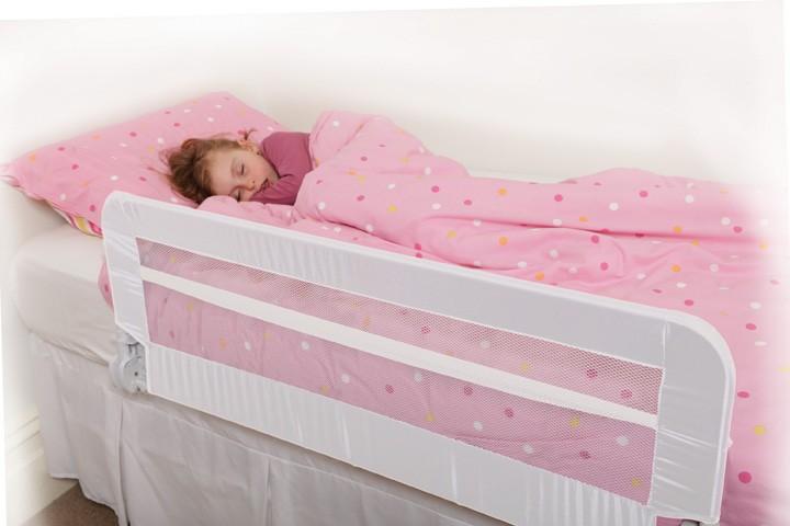 Dreambaby Extra Harrogate Bed Rail Bedrail White Navy