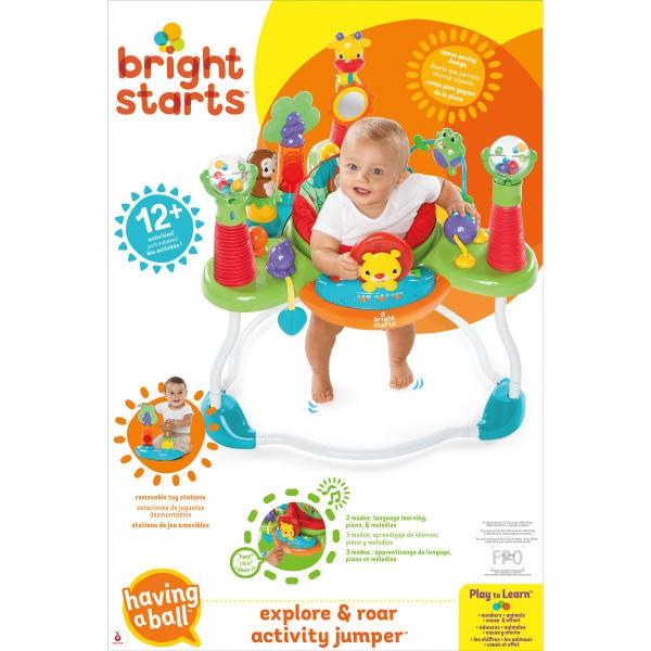 326578793 Bright Starts Explore   Roar Activity Jumper - Best Educational ...