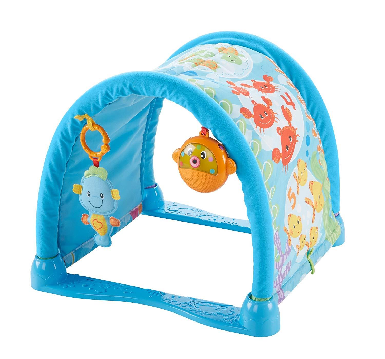 Fisher Price Kick N Crawl Musical Seahorse Activity Gym