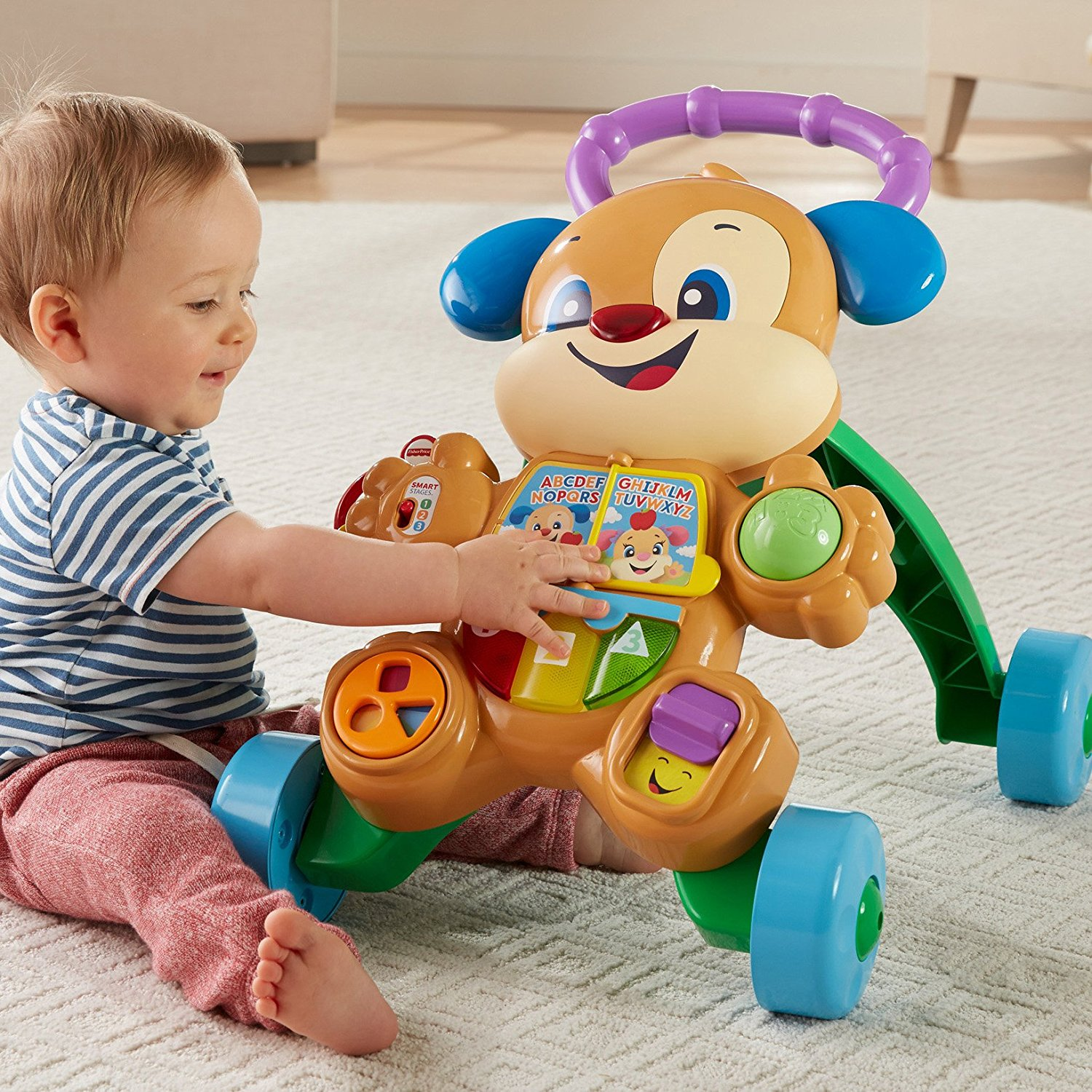 Fisher Price Laugh Amp Learn Smart Stages Learn With Puppy