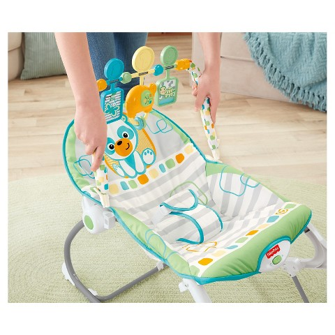 fisher price infant to toddler rocker elephant friends instructions