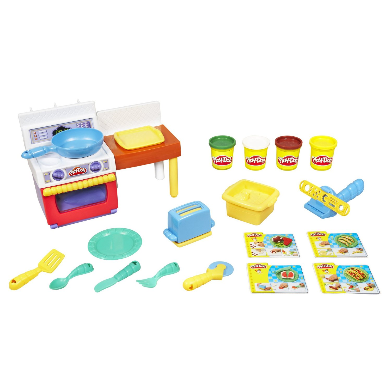 Play Doh Fun With Food - Meal Makin Kitchen Playset - Best ...