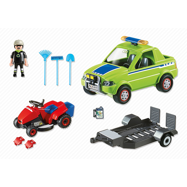 Playmobil Landscaper With Lawn Mower Best Educational