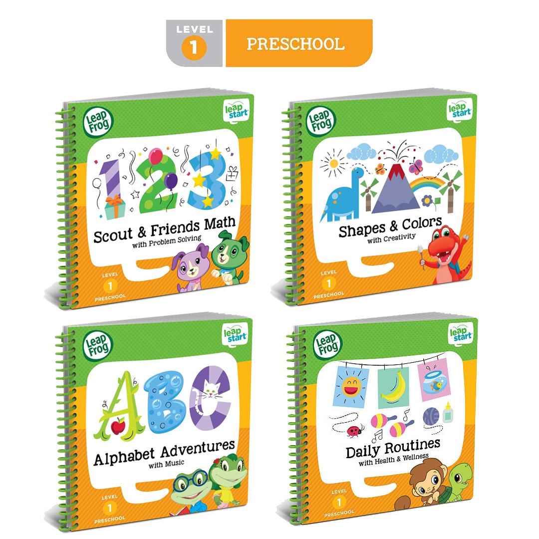 Leapfrog LeapStart Books Level 1 (age 2 - 4 years) - Best ...