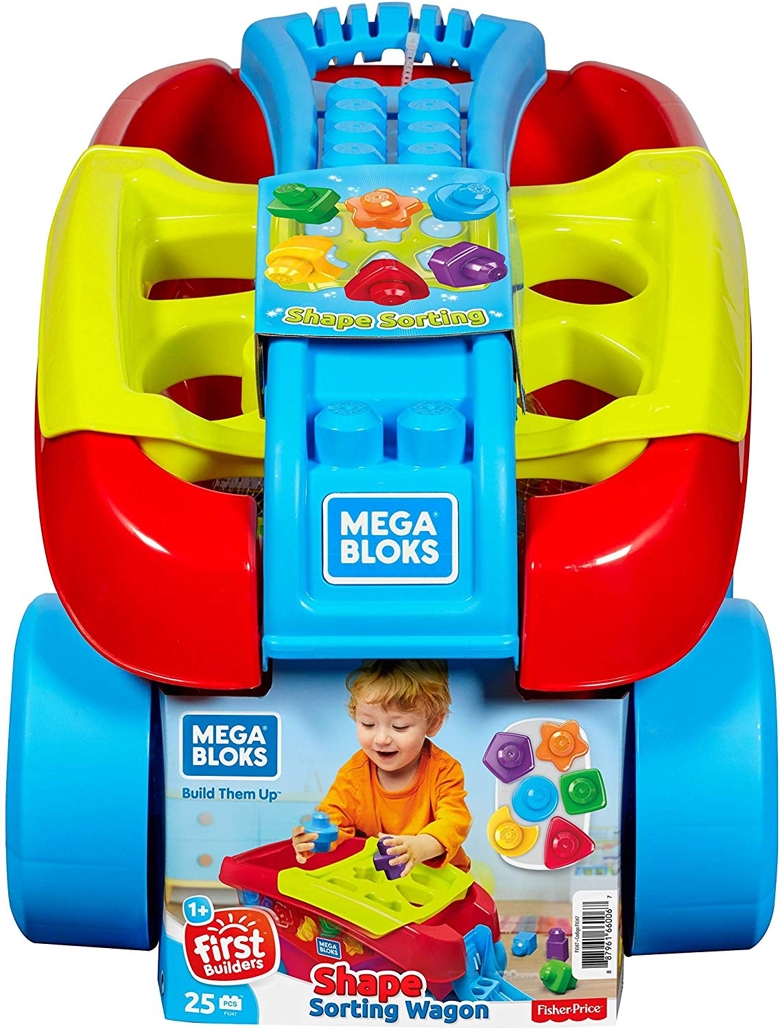 Mega Bloks Building Basics Shape Sorting Wagon - Best ...