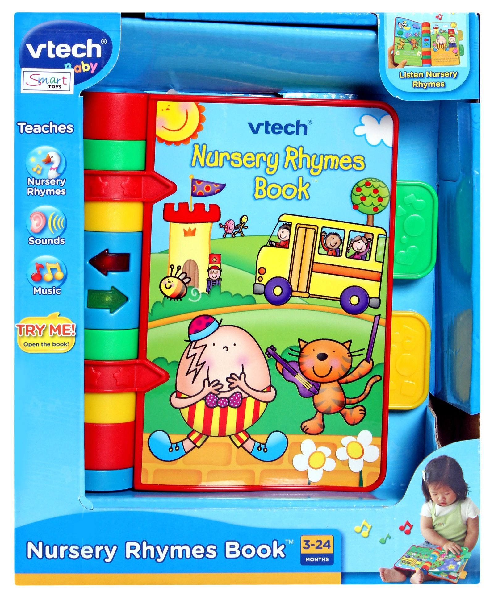 Nursery Rhymes Book Best Educational Infant Toys Stores Singapore