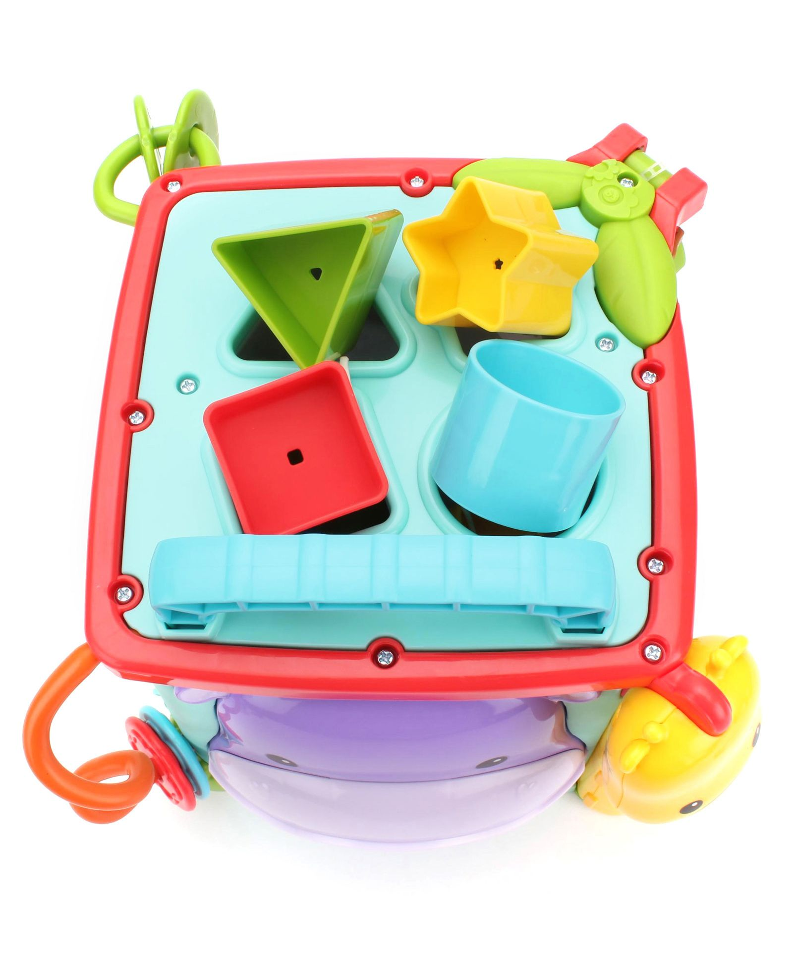 Play & Learn Activity Cube Best Educational Infant Toys stores