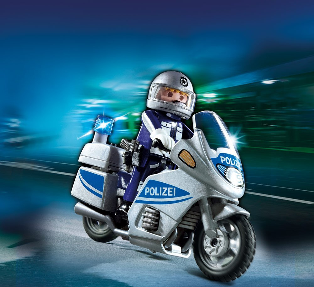 playmobil police motorcycle best educational infant toys stores singapore. Black Bedroom Furniture Sets. Home Design Ideas
