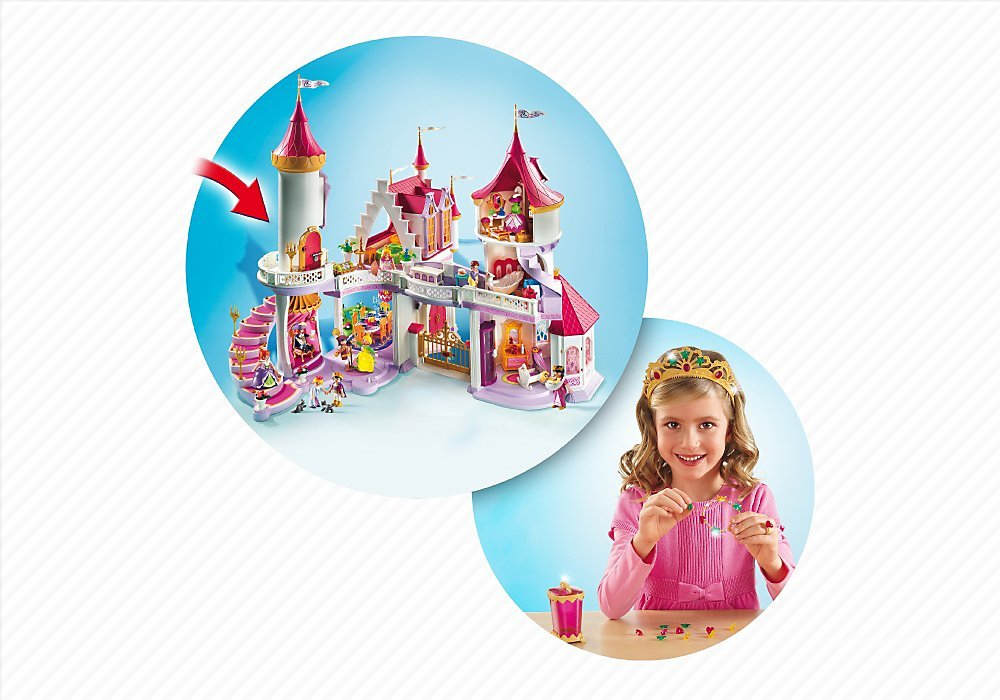 Playmobil princess fantasy castle best educational for Playmobil princesse 5142