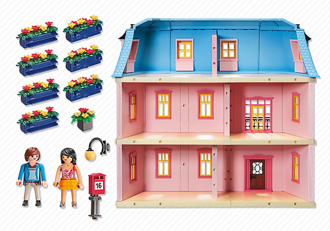 Playmobil Deluxe Dollhouse Doll House 5303 Best Educational Infant
