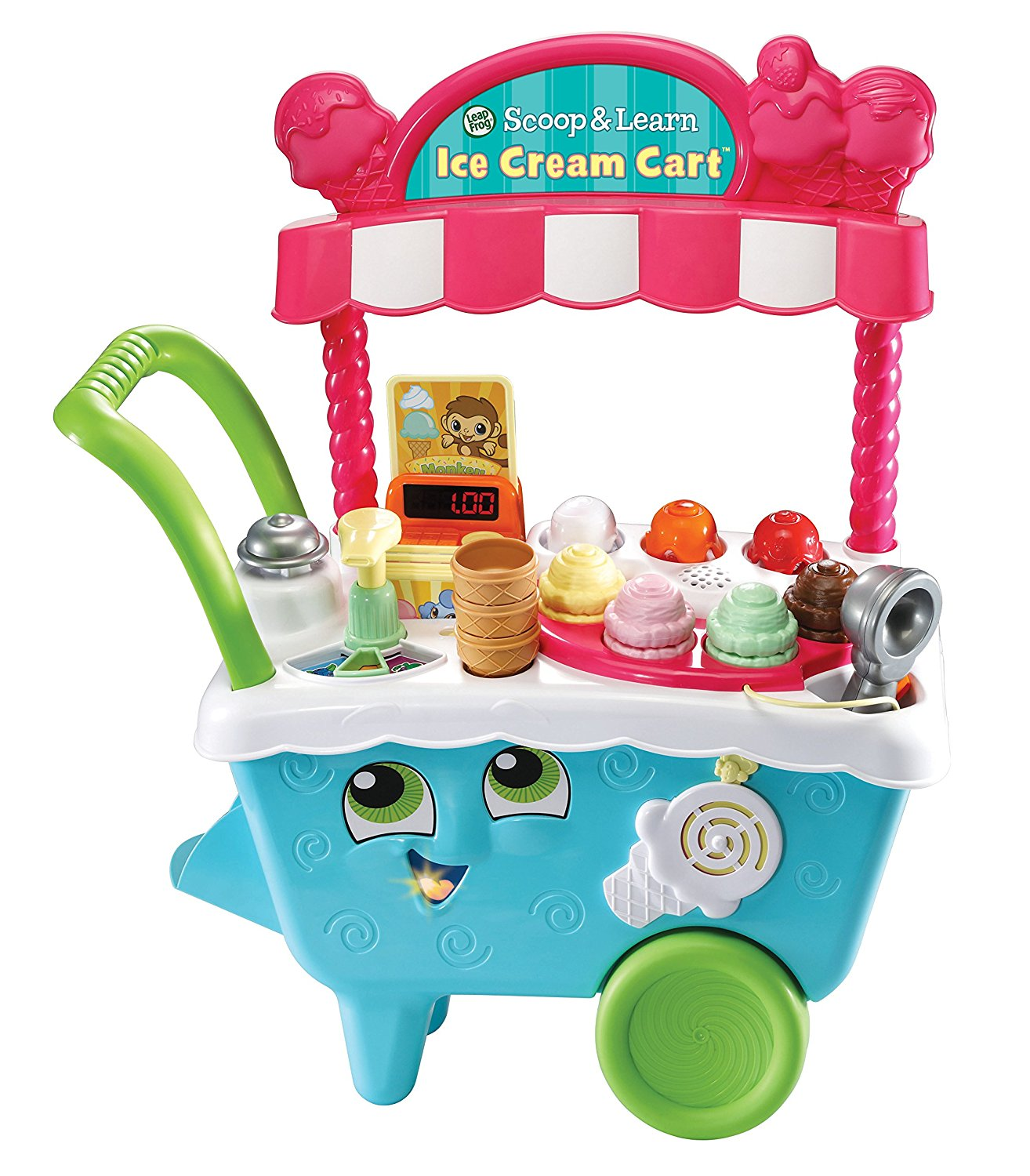 leapfrog scoop learn ice cream cart best educational infant toys