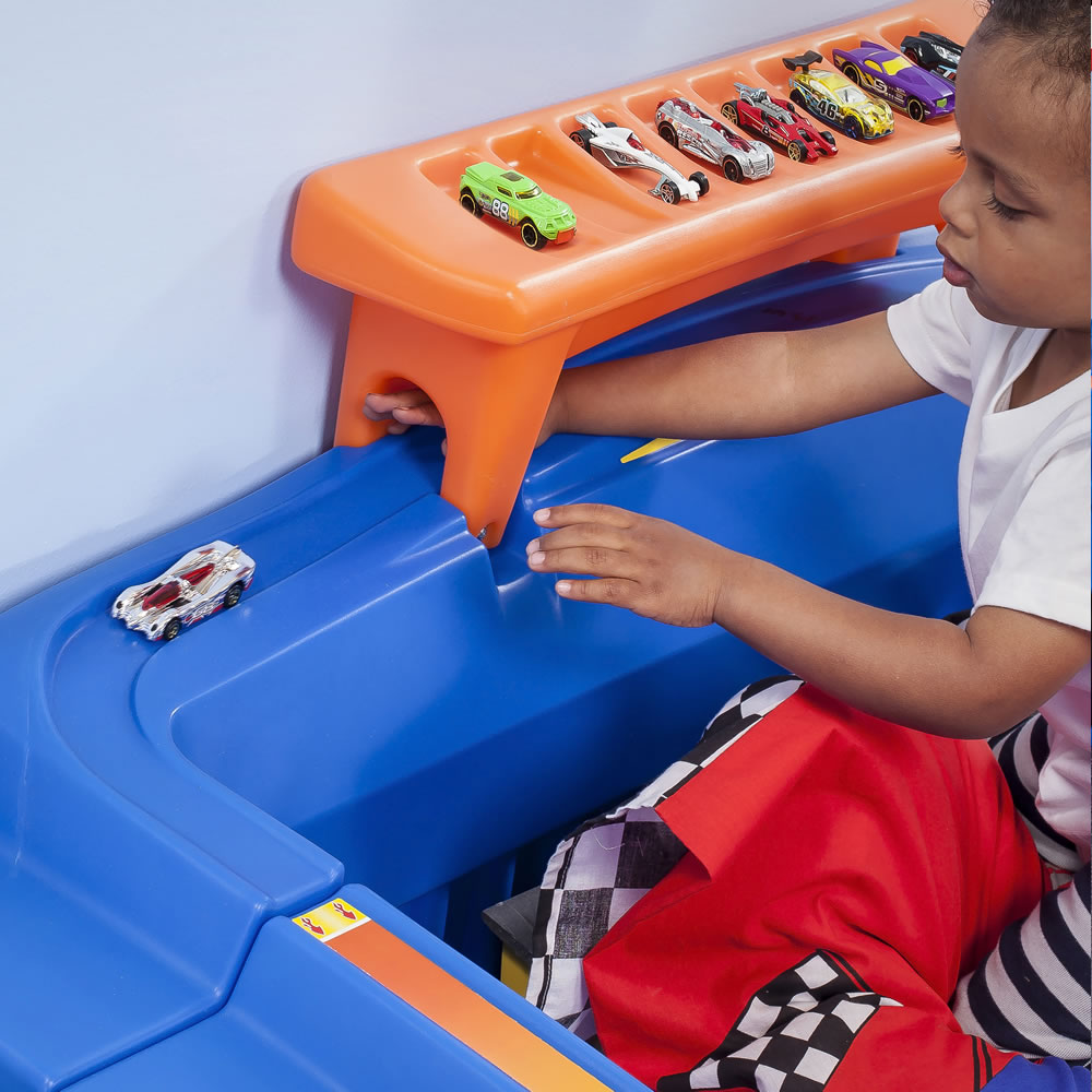 Step2 Hot Wheels Toddler To Twin Bed Best Educational
