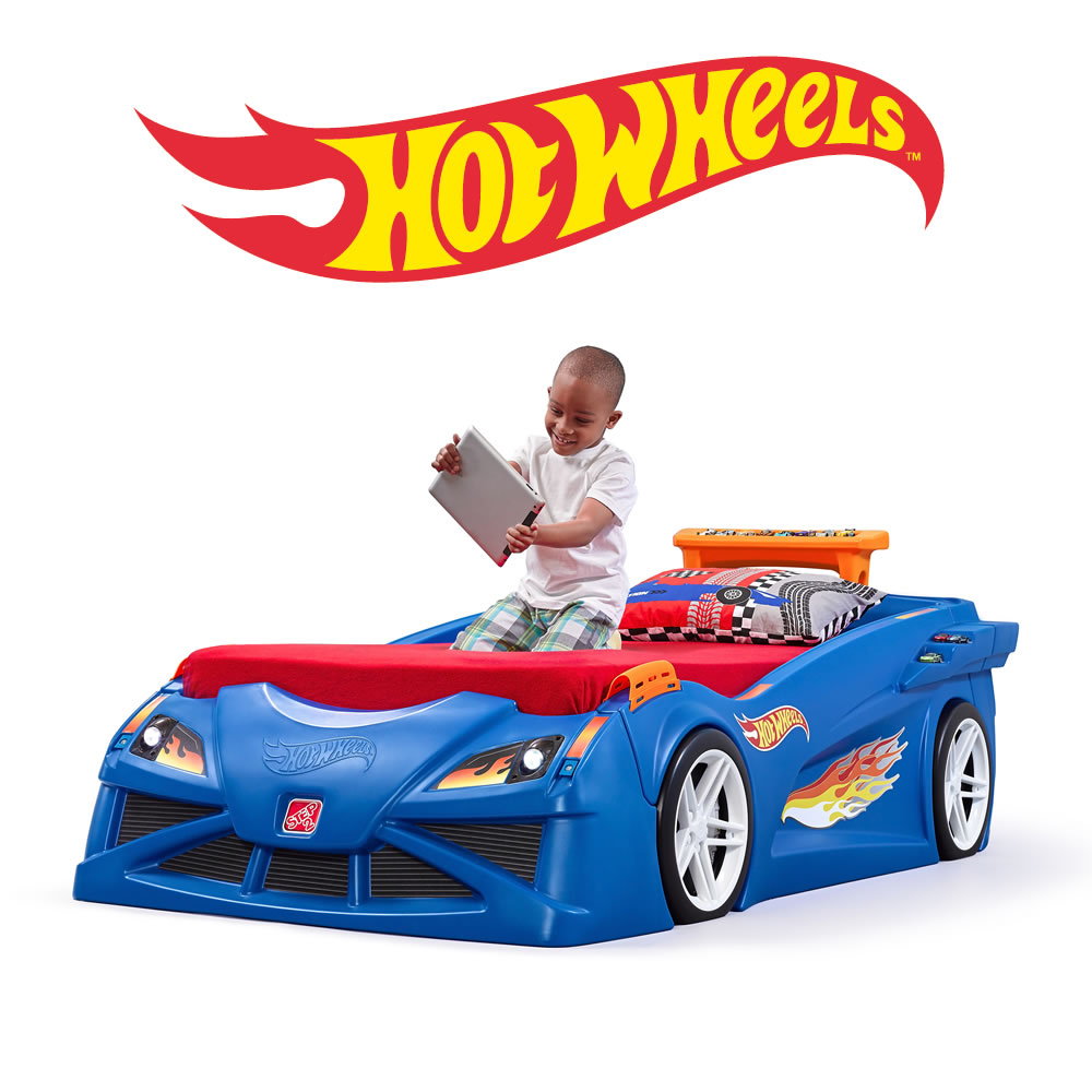 Little Tikes Race Car Bed A Buyer S Guide: Step2 Hot Wheels Toddler To Twin Bed