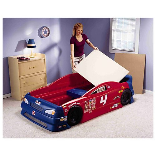 Step2 Stock Car Convertible Bed Best Educational Infant Toys