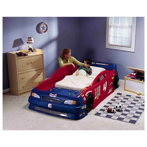 Step2 Stock Car Convertible Bed Best Educational Infant