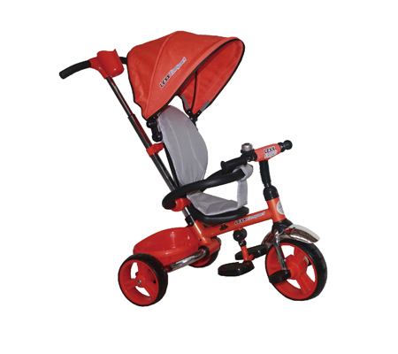 Foldable Tricycle T300 Purple Orange Red Best