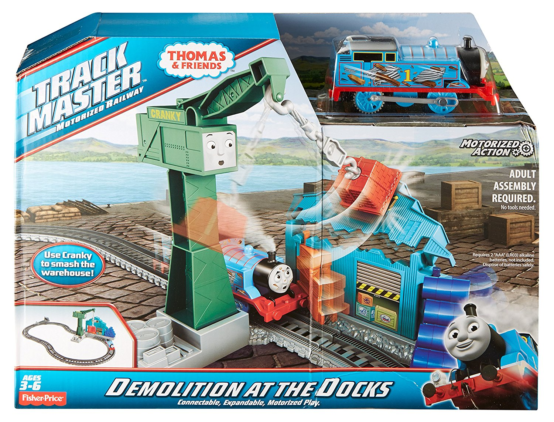 thomas demolition at the docks instructions