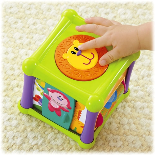 Fisher Price Animal Activity Cube Best Educational