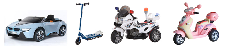 Battery Operated Scooters / Cars