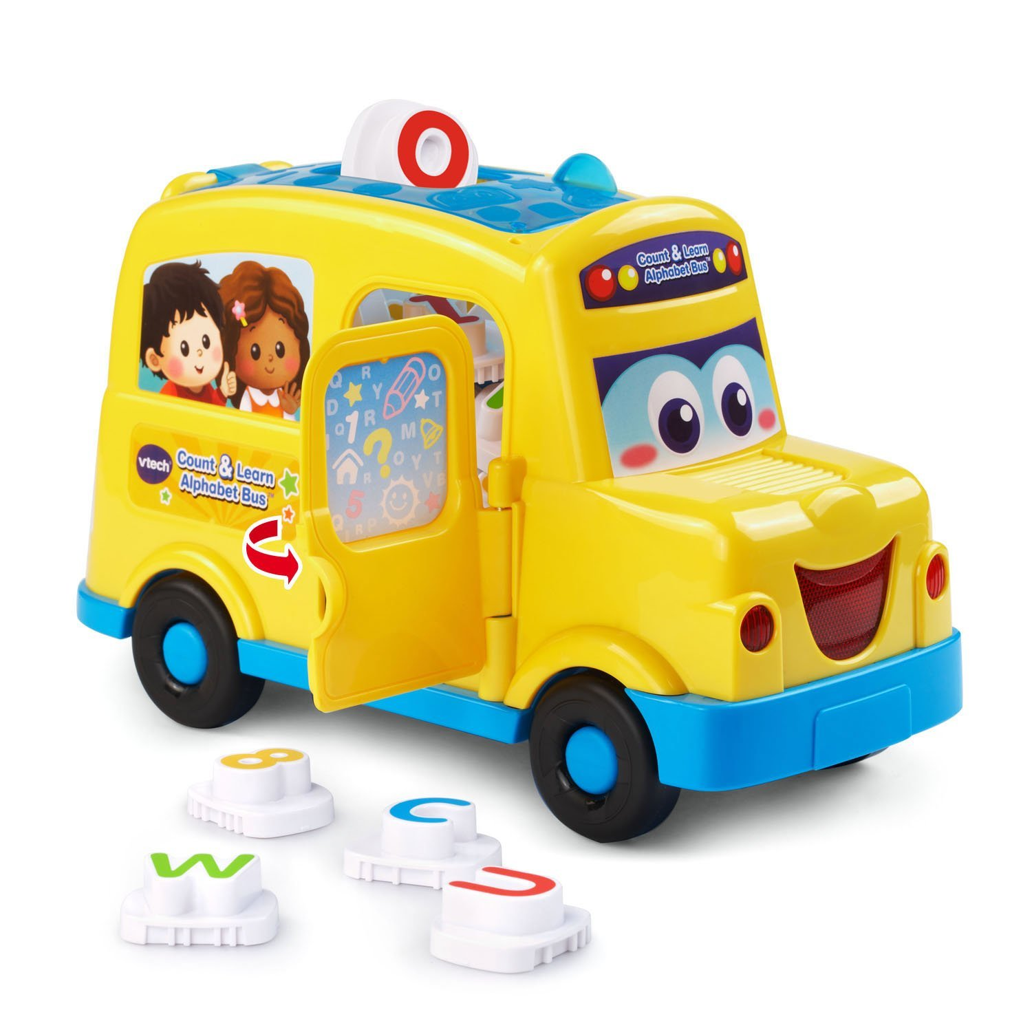 VTech Count & Learn School Bus Toy Operation & user's ...