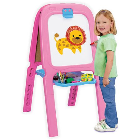 Step2 Easel For Two Red Pink Best Educational Infant