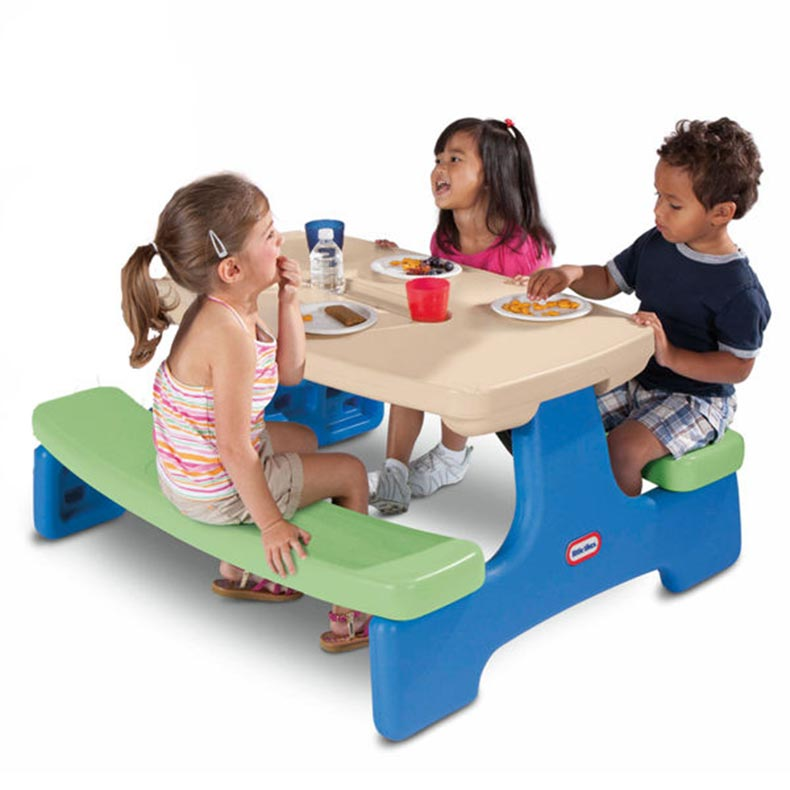 Little Tikes Easy Store Picnic Table Best Educational