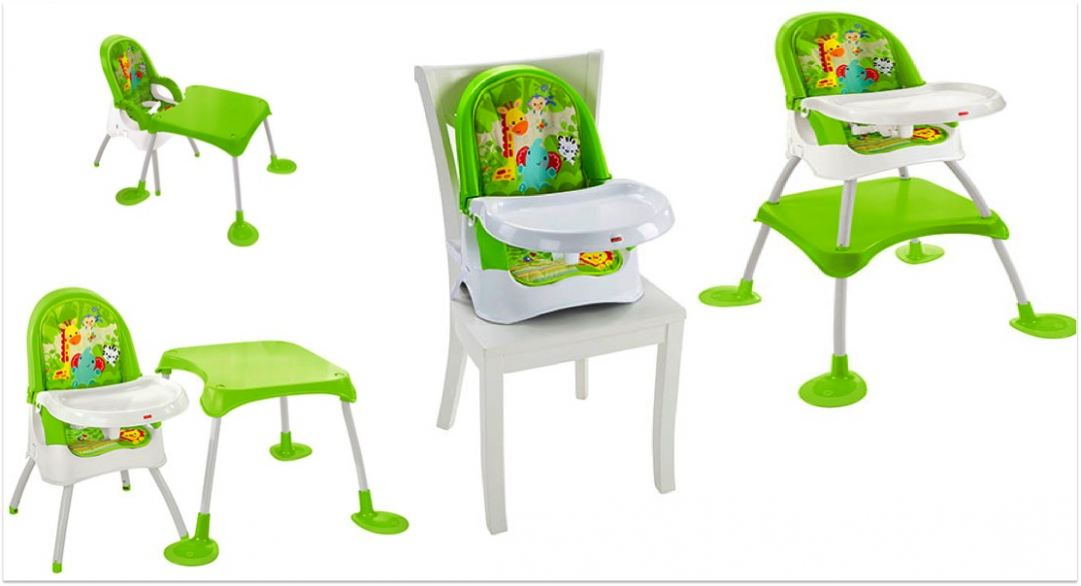 Fisher Price 4 In 1 High Chair Best Educational Infant