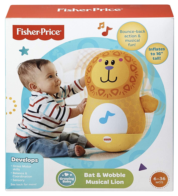 Fisher-Price Baby Playzone Bat 'N Wobble Ball BABY/TODDLER ...  Fisher Price Bat Wobble