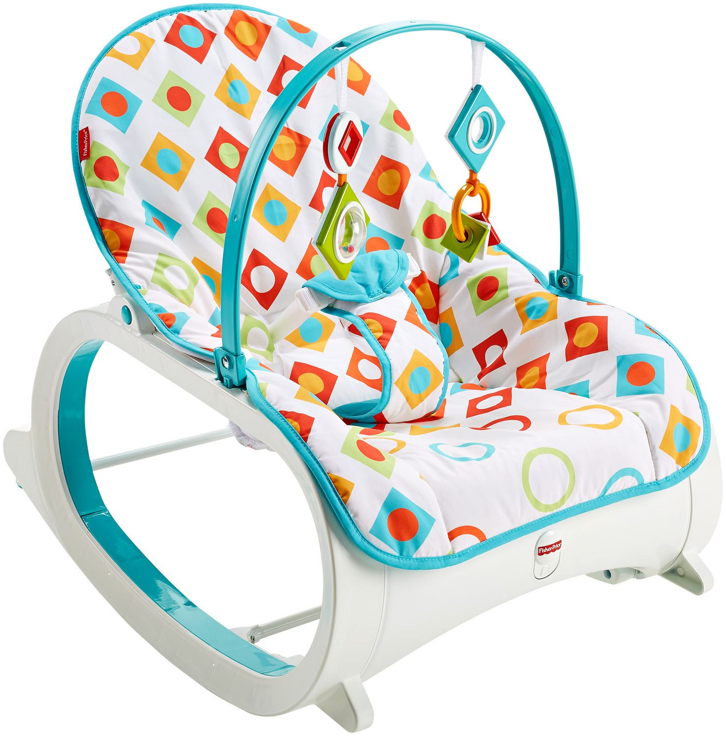 Infant to Toddler Rocker Geo Diamonds Best Educational Infant