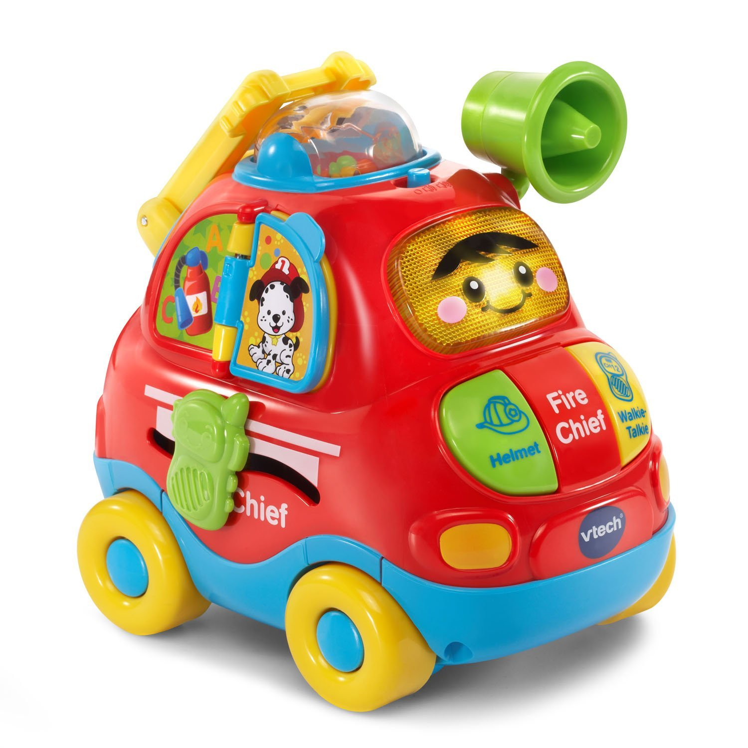 vtech go go smart wheels push discover fire chief best. Black Bedroom Furniture Sets. Home Design Ideas