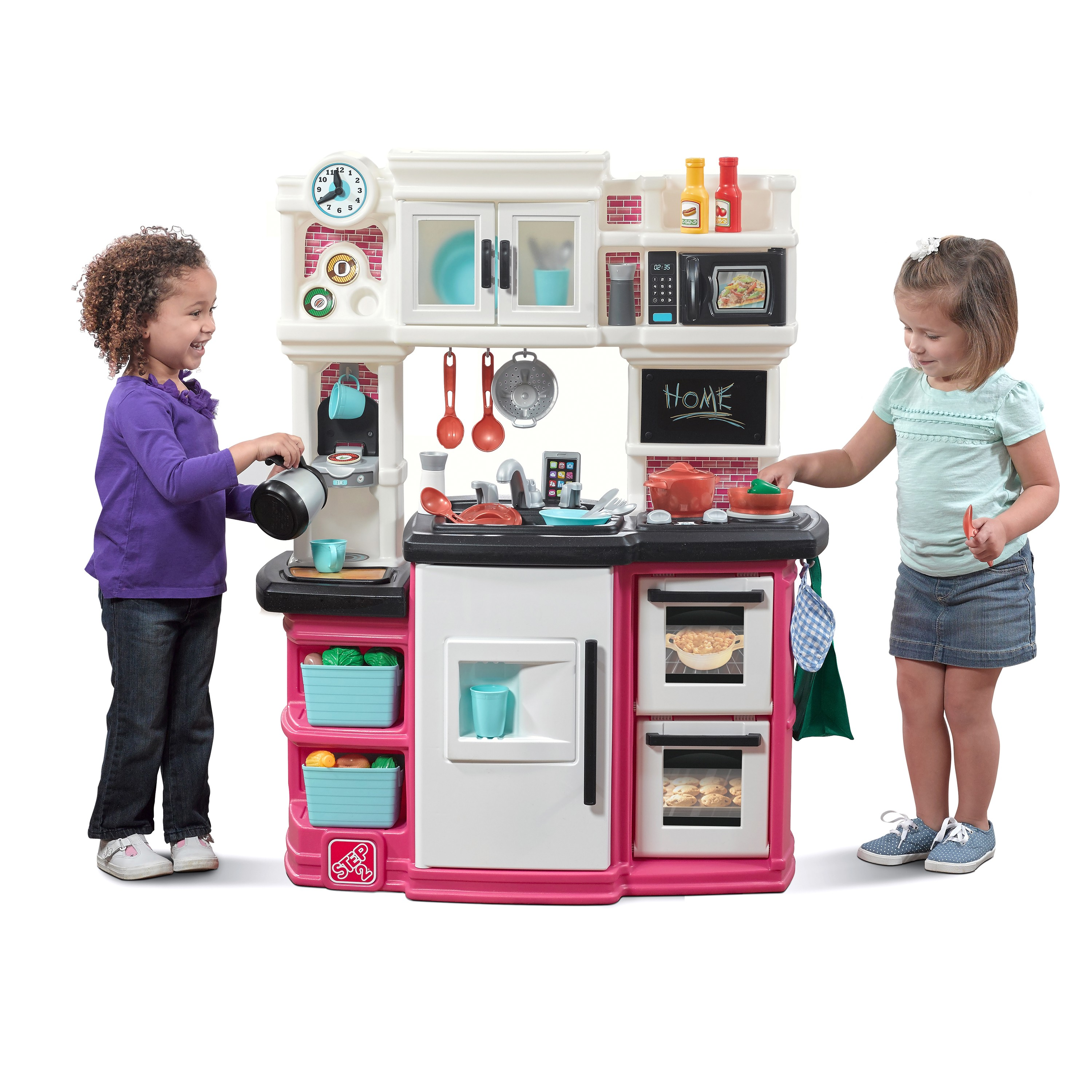 Step2 Great Gourmet Kitchen (Pink) - Best Educational Infant ...