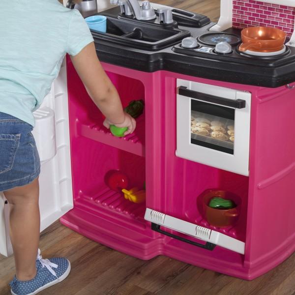 Gourmet Kitchen Store: Step2 Great Gourmet Kitchen (Pink)
