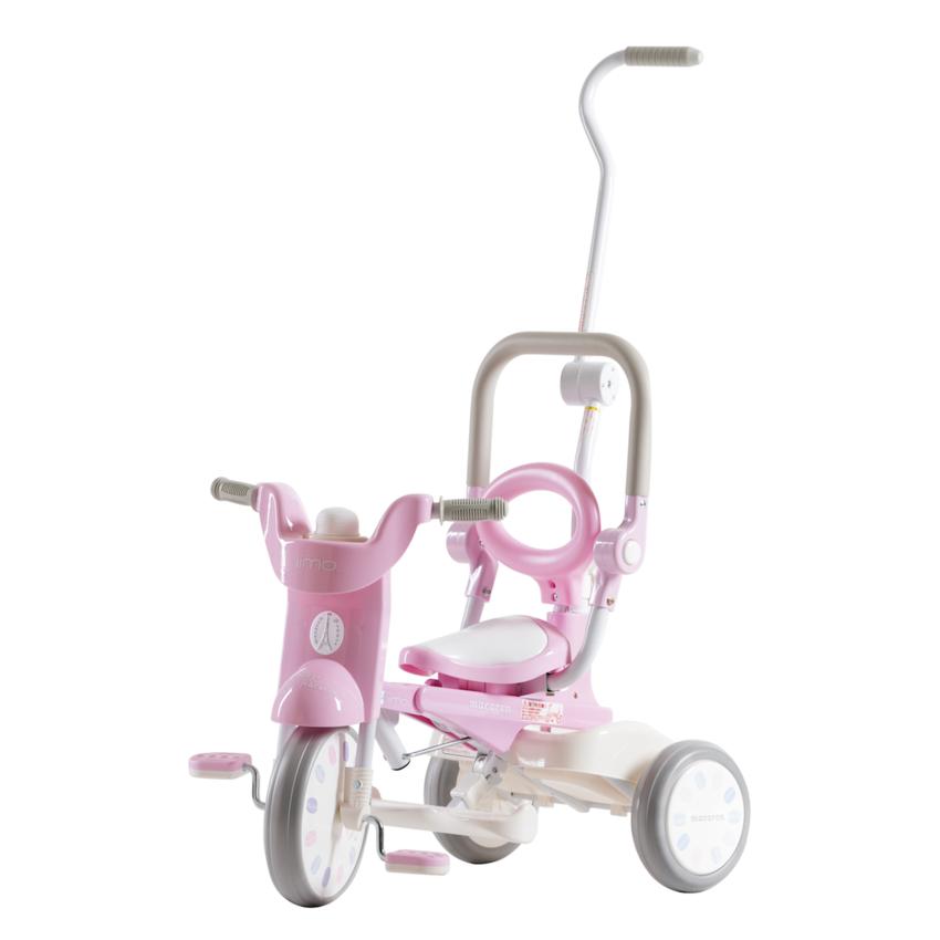 Iimo X Macaron Foldable Tricycle Trike Sugar Pink Best