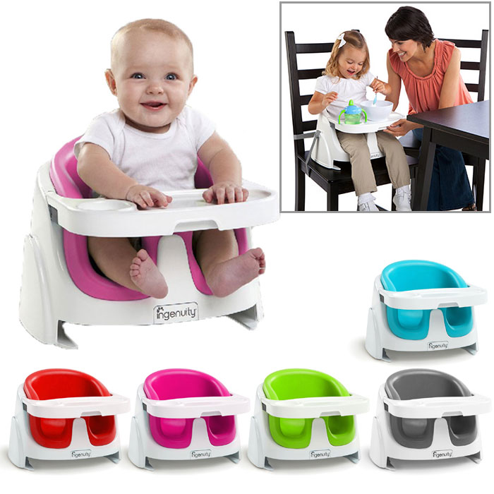 Ingenuity Baby Base 2 In 1 Booster Seat And Floor