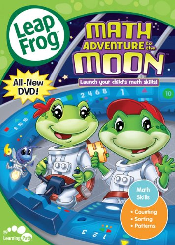 leapfrog dvd math adventure to the moonletter factory