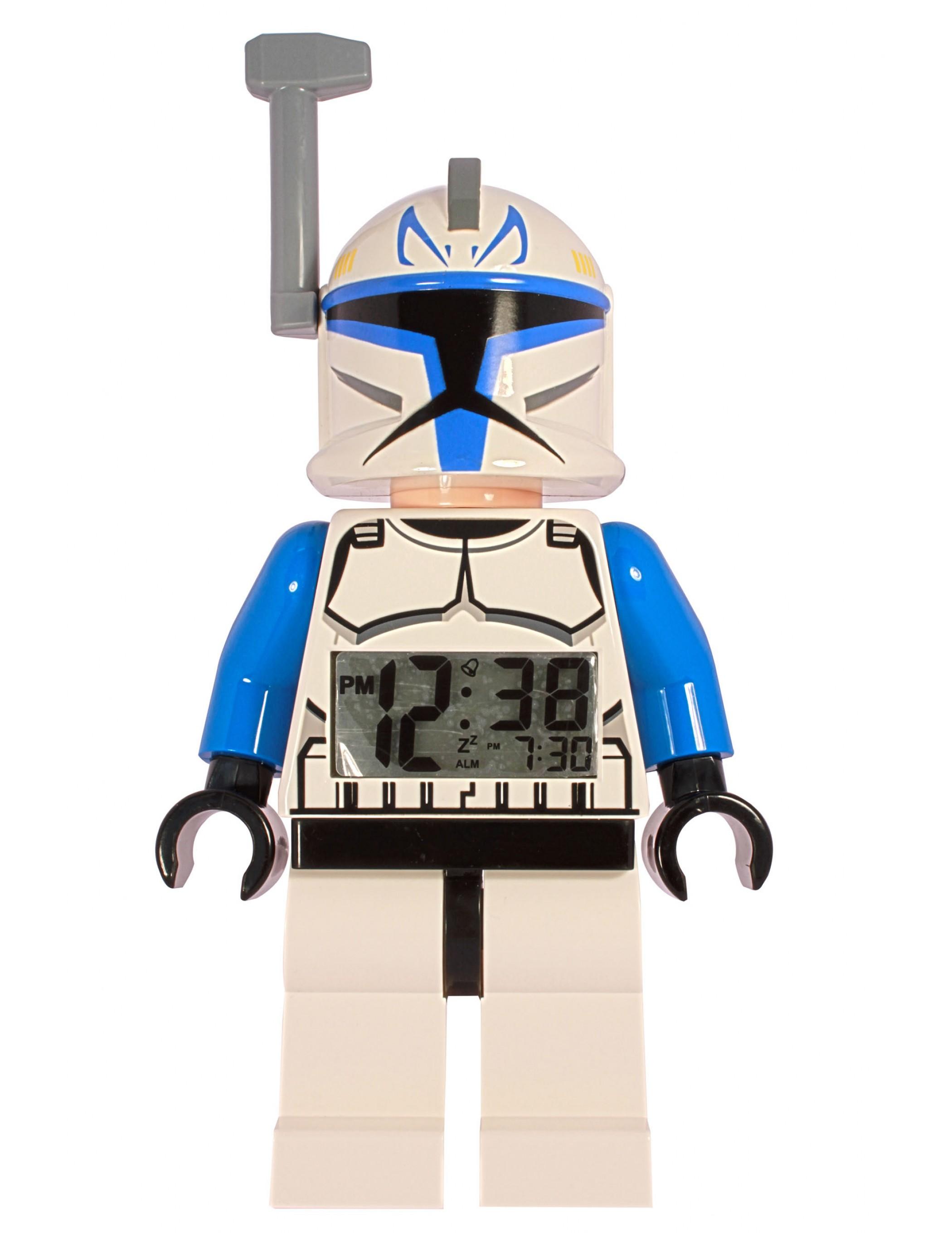 LEGO Star Wars Captain Rex Minifigure Clock - Best Educational Infant Toys stores Singapore