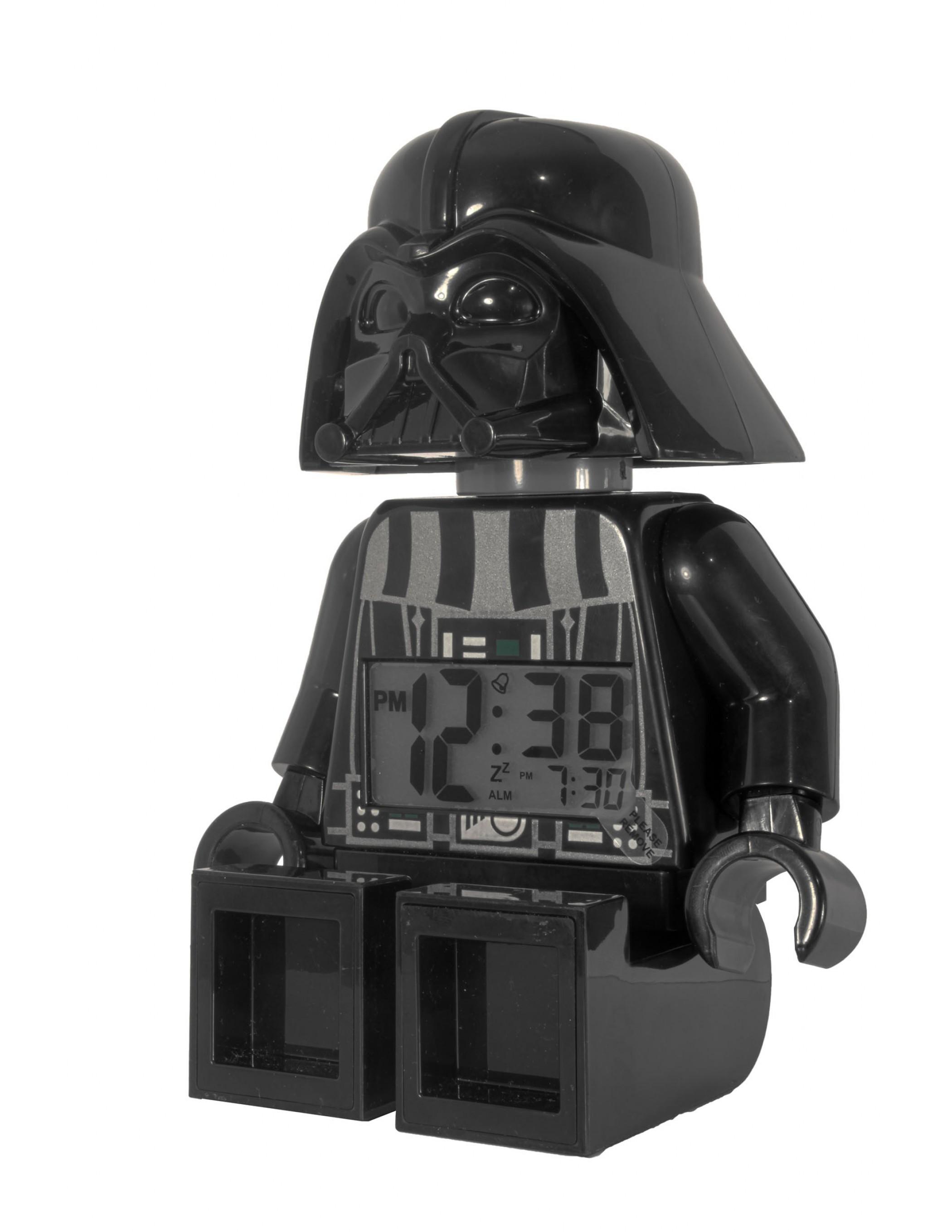 lego wars darth vader minifigure clock best