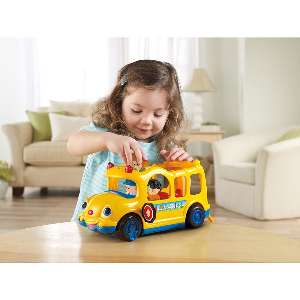 fisher price little people lil movers school bus best. Black Bedroom Furniture Sets. Home Design Ideas