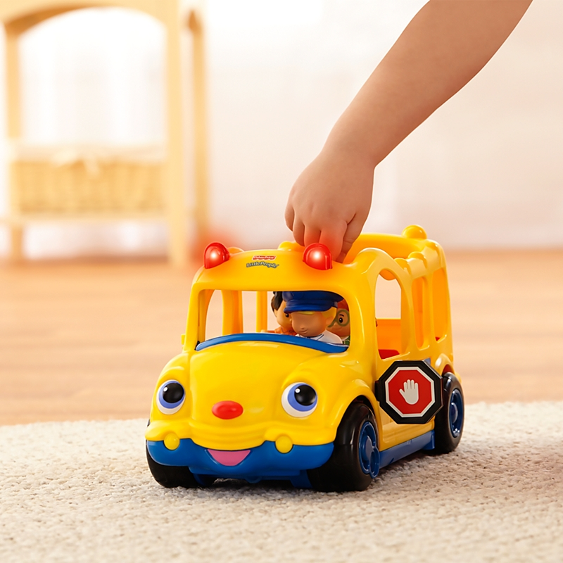 Little People Lil Movers School Bus - Best Educational Infant Toys ...