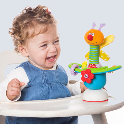 Mini table carousel high chair toy best educational for Chaise haute fisher price